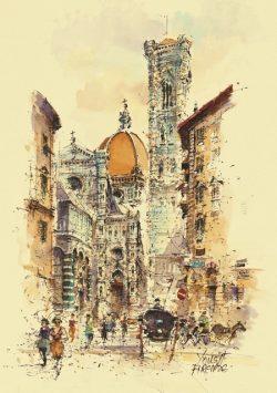 001 Firenze - La Cattedrale