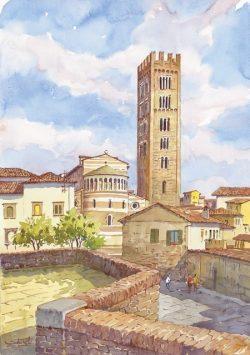 01 Lucca - Basilica di San Frediano