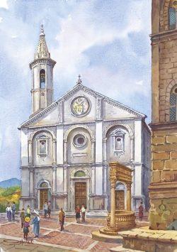 01 Pienza - La Cattedrale