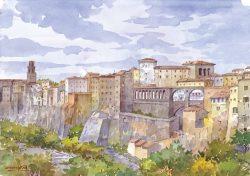 01 Pitigliano - Città affascinante costruita sulla roccia