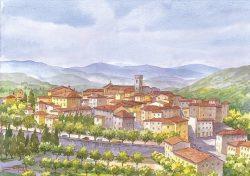 1 Radda in Chianti - Panorama