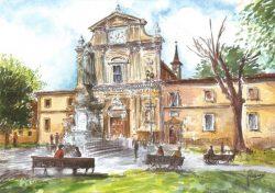 115 Firenze - Piazza San Marco e Basilica