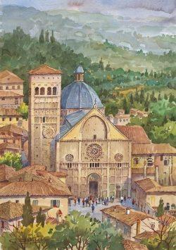 12 Assisi - L'antico Duomo di San Rufino