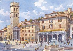 02 Assisi - Piazza del Comune