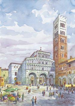 02 Lucca - Piazza San Martino, Il Duomo