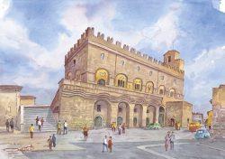 02 Orvieto - Il maestoso palazzo del Popolo