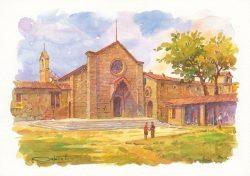 02q Fiesole - La Chiesa e il Convento di San Francesco
