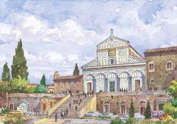 003 Firenze - Basilica di San Miniato