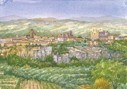03 Orvieto - Panorama (prov. Terni Umbria)