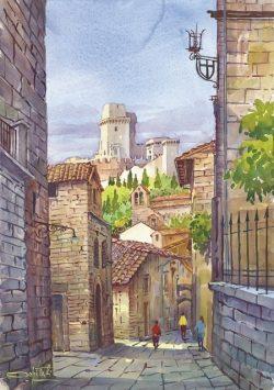 04 Assisi - Vicolo caratteristico della città