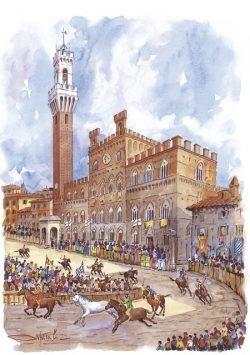 04 Siena - Il Palio, 2 Luglio, 16 Agosto