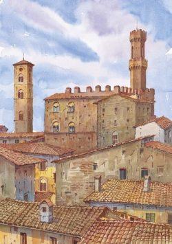 04 Volterra - La Torre e il campanile