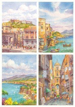45 Quattro Immagini - Napoli e Sorrento