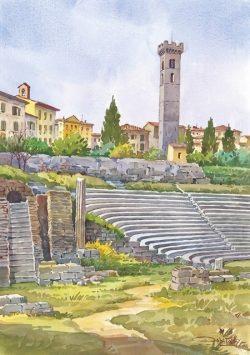 05 Fiesole - Il Teatro Romano