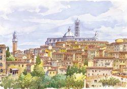 05 Siena - La Cattedrale che domina la sua Città