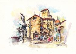 006 Firenze - Sul Ponte Vecchio