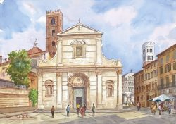 06 Lucca - Chiesa di San Giovanni