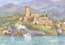 08 Lungo le coste del Garda - Malcesine, castello Scaligero (sec XIII)