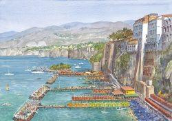 08 Sorrento - I tipici stabilimenti balneari
