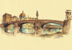 008p Firenze - Ponte Santa Trinita