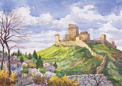 09 Assisi - L'antica Rocca Maggiore
