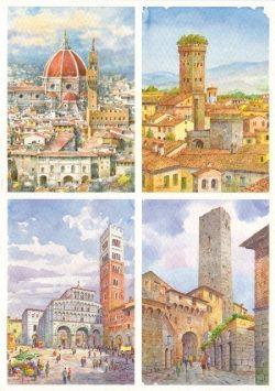 092 Quattro Immagini - Firenze, Lucca, San Gimignano