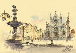 009c Firenze - Basilica di S. Croce