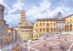 01 Arezzo - Piazza Grande