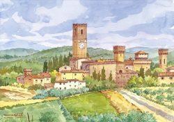 1 Badia a Passignano - Antica Abbazia di San Michele Arcangelo nelle colline del Chianti