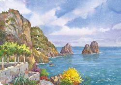 01 Capri - L'isola e i faraglioni