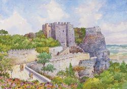 01 Erice - Il maestoso Castel Venere