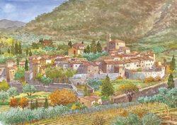 1 Montefioralle - Castello e borgo dentro le mura
