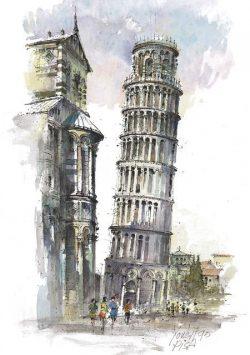 01 Pisa - La Torre Pendente