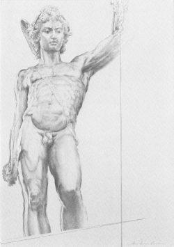 10 Omaggio a B. Cellini: Particolare del Perseo