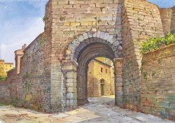 10 Volterra - L'etrusca Porta dell'Arco