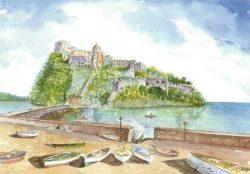 10 Isola d' Ischia - Il Castello Aragonese
