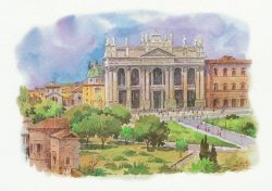 10q Roma - Basilica di San Giovanni inLaterano