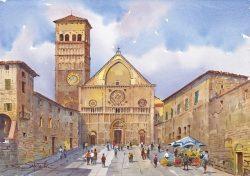 11 Assisi - Duomo di San Rufino