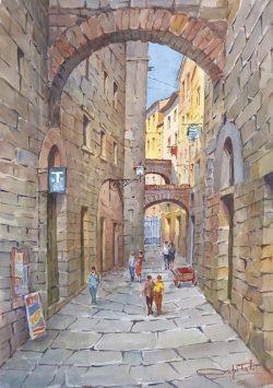 11 Volterra - Vicolo delle Prigioni