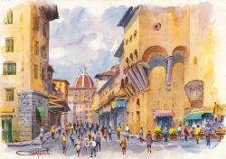 011 Firenze - Sul Ponte Vecchio