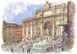 12 Roma - La Fontana di Trevi