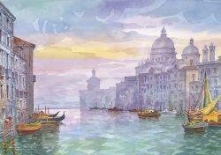12 Venezia - Canal Grande, Chiesa di Santa Maria della Salute