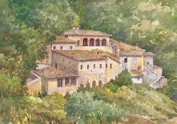 13 Assisi - Il suggestivo Eremo delle Carceri