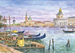 13 Venezia -Isola e chiesa di San Giorgio Maggiore