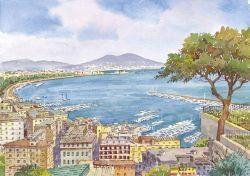 14 Napoli - Panorama sul Golfo