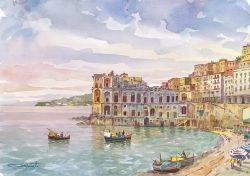 15 Napoli - Posillipo e palazzo Donn'Anna