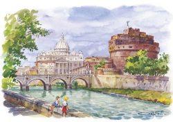 15 Roma - Castel Sant'Angelo