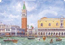 16 Venezia - Panorama dal Canal Grande
