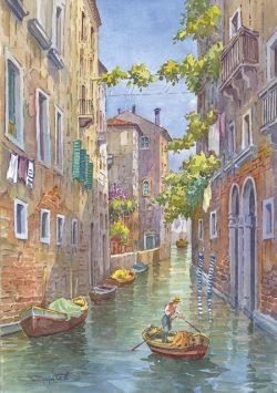 17 Venezia - Il delizioso Rio dei Meloni