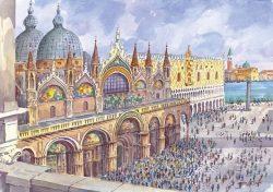 18 Venezia - Panorama dalla Torre dell'Orologio